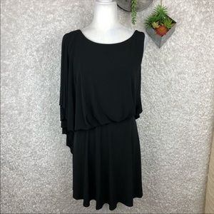 Jessica Simpson One Shoulder Batwing LBD NWT | 14